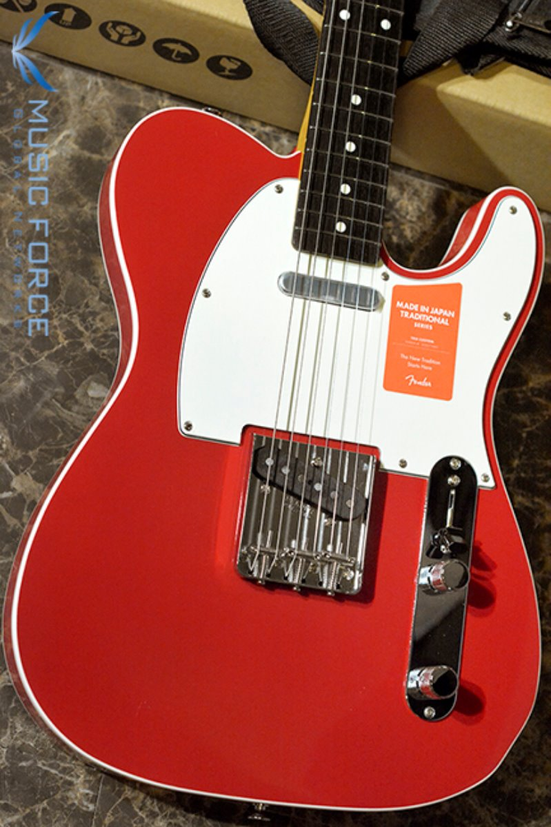 Fender Japan Traditional 60s Tele Custom-Torino Red w/Rosewood FB (2017년산/신품) 팬더 재팬 트레디셔널 60s 텔레 커스텀