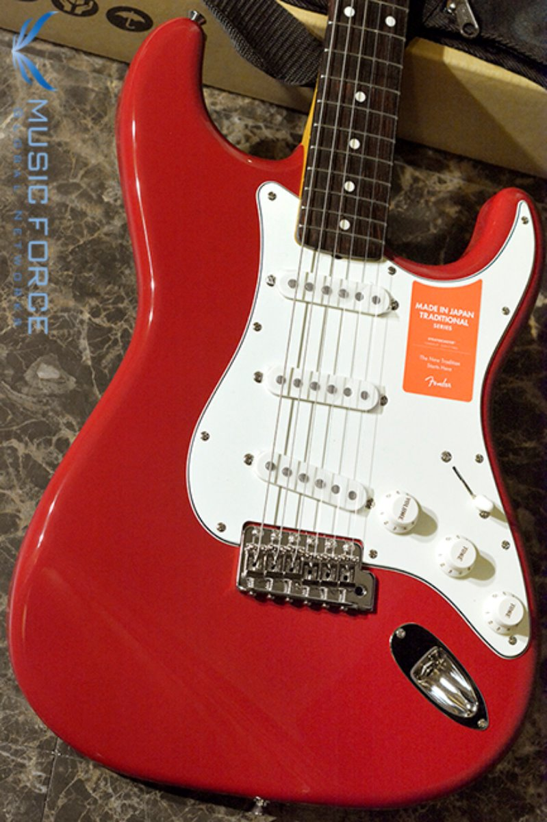 Fender Japan Traditional 60s Stratocaster-Torino Red w/Rosewood FB (2017년산/신품) 팬더 재팬 트레디셔널 60s 스트라토캐스터