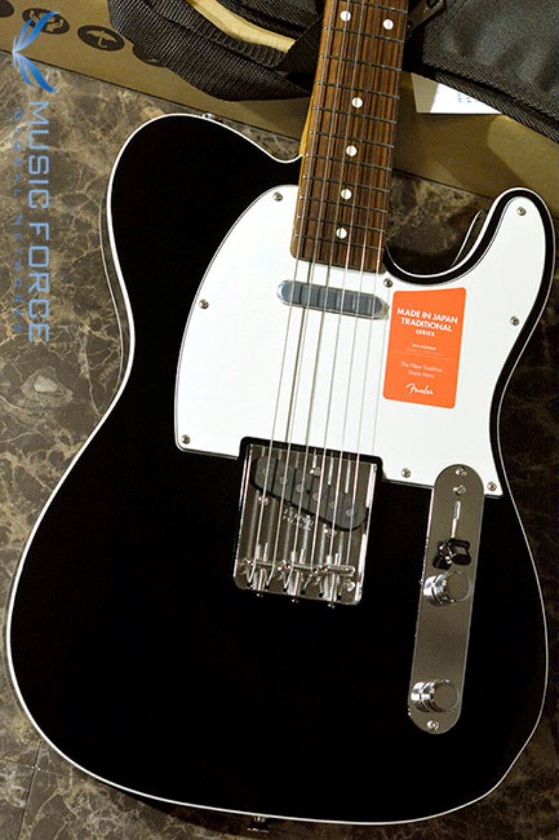 Fender Japan Traditional 60s Tele Custom-Black w/Rosewood FB (2017년산/신품) 팬더 재팬 트레디셔널 60s 텔레 커스텀