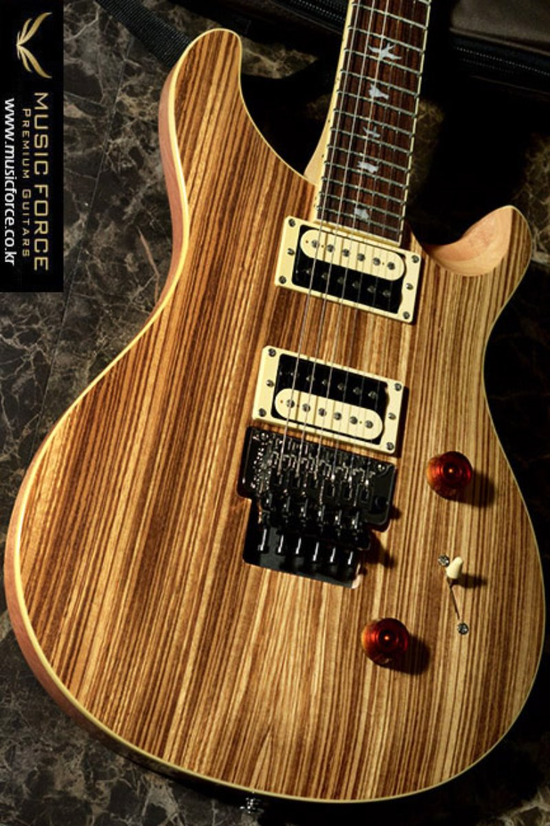 PRS SE Floyd Custom 24 Exotic Wood LTD-Zebrawood Top(신품)