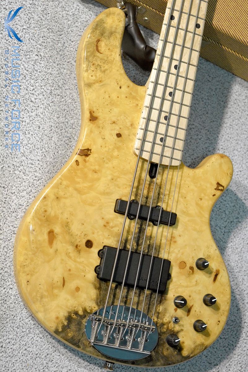 [2018 Final Sale(~12/31까지)!!!] Lakland US Custom 55-94 Deluxe-Buckeye Burl Top w/Birdseye Maple FB(2015년산/신품)