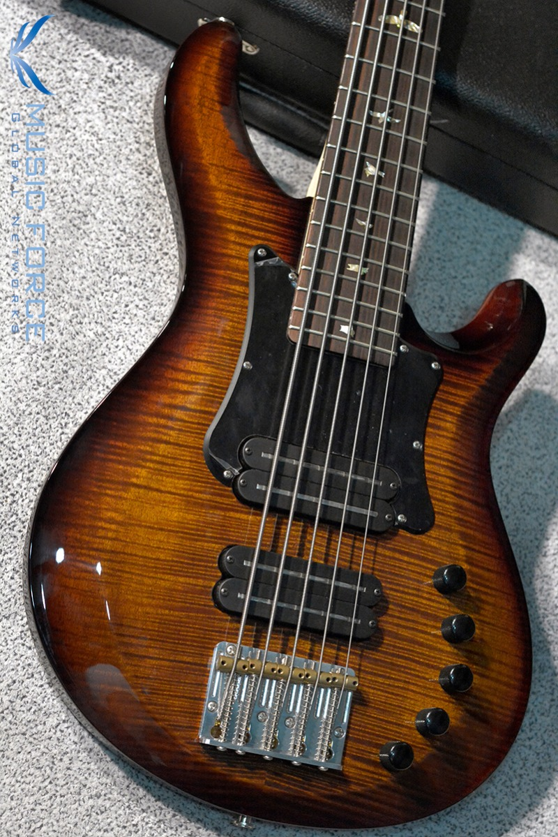 [이월상품창고대방출!!!] PRS Gary Grainger 5 String Bass FMT-Black Gold Burst w/Black Pickguard & 10top Option(2015년산/신품)