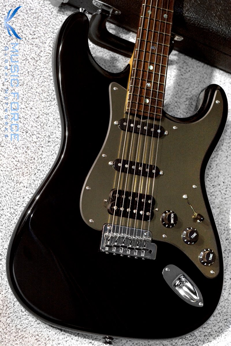 Don Grosh NOS Retro SSH-Black w/Brushed Gold PG & Matching Headstock(2018년산/신품)