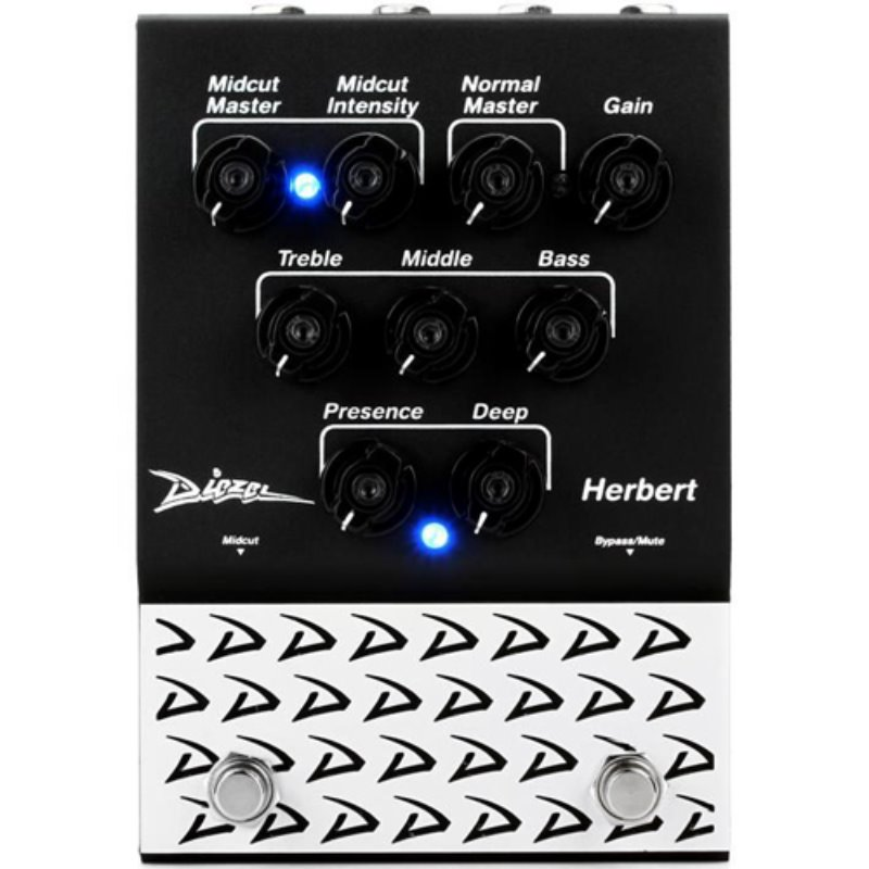 [특별세일] Diezel Herbert Overdrive/Distortion/Preamp Pedal