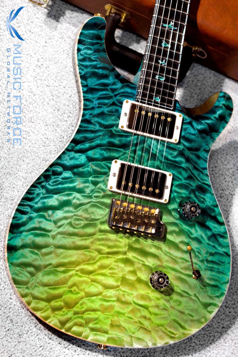 PRS Private Stock Custom 24 QMT-Laguna Dragon's Breath w/Ebony FB & MOP Purfling(2017년산/신품)