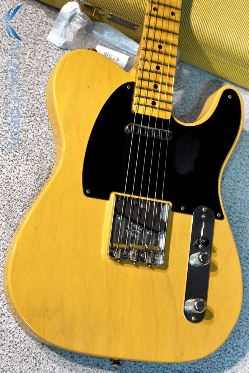 Fender Custom Shop 1952 Telecaster Flash Coat Relic-Butterscotch Blonde(2018년산/신품)
