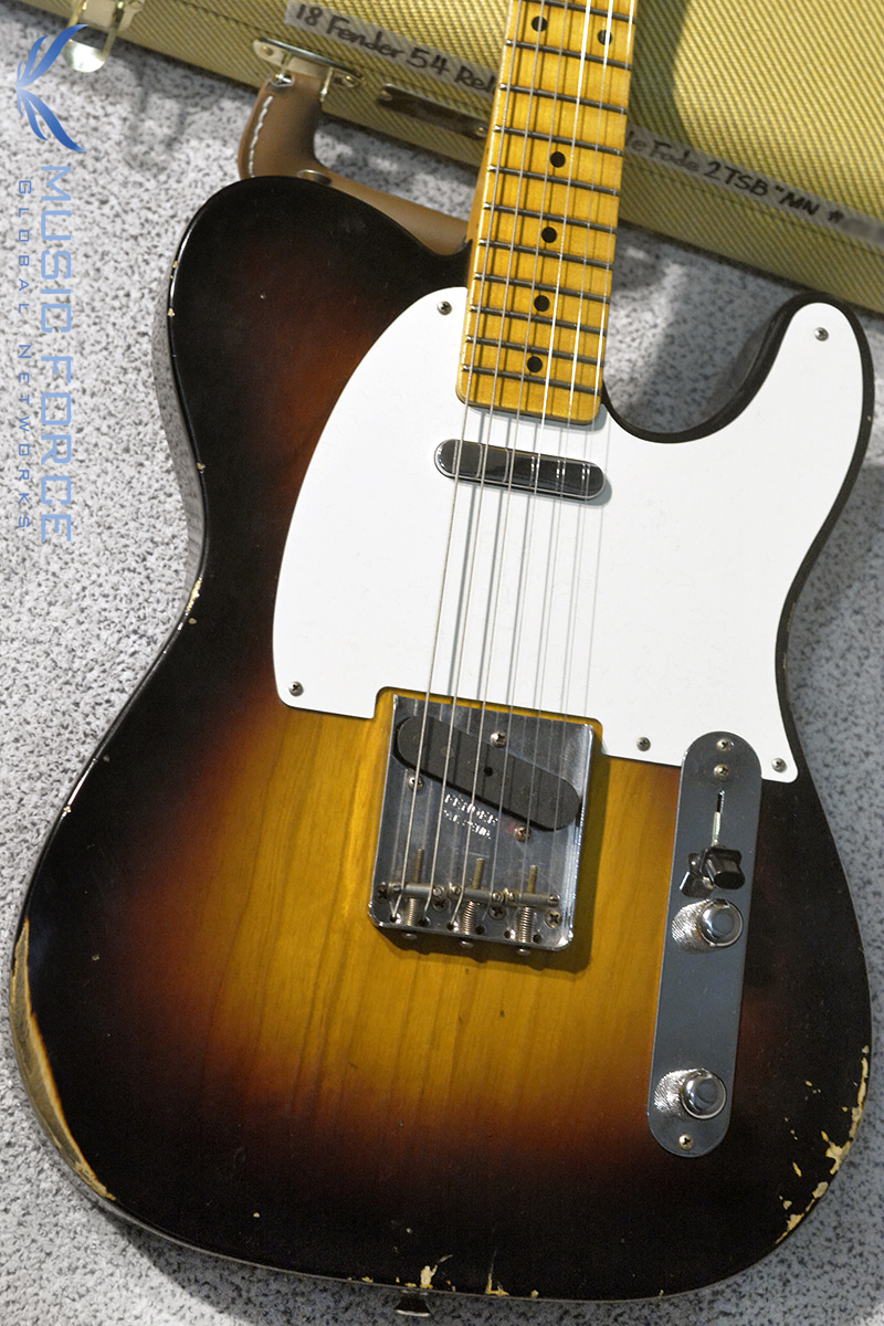 Fender Custom Shop 2018 Collection 1954 Tele Relic-Wide Fade 2TSB(2018년산/신품)