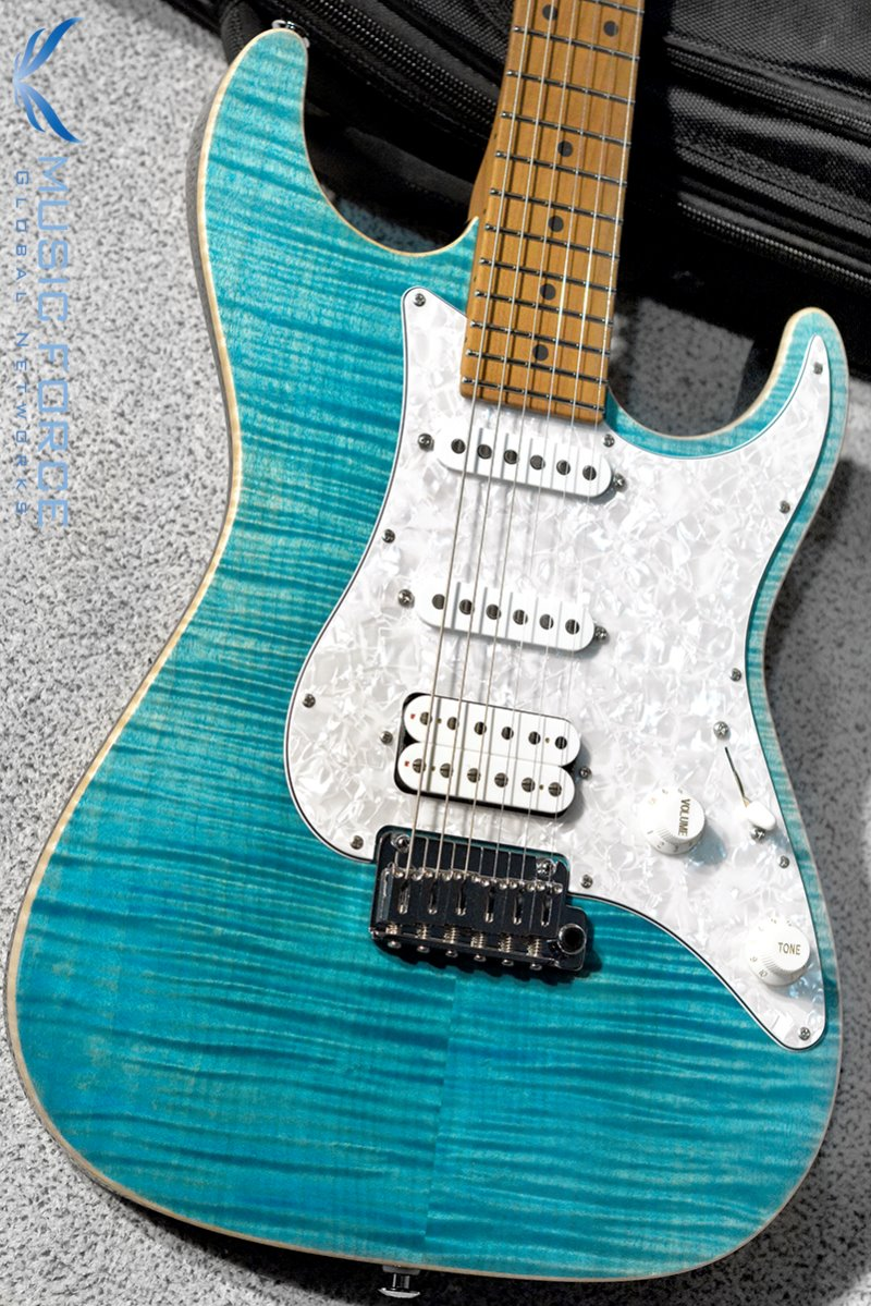 Suhr Standard Plus SSH FMT-Bahama Blue w/Roasted Maple Neck & SSCII System(2019년산/신품)
