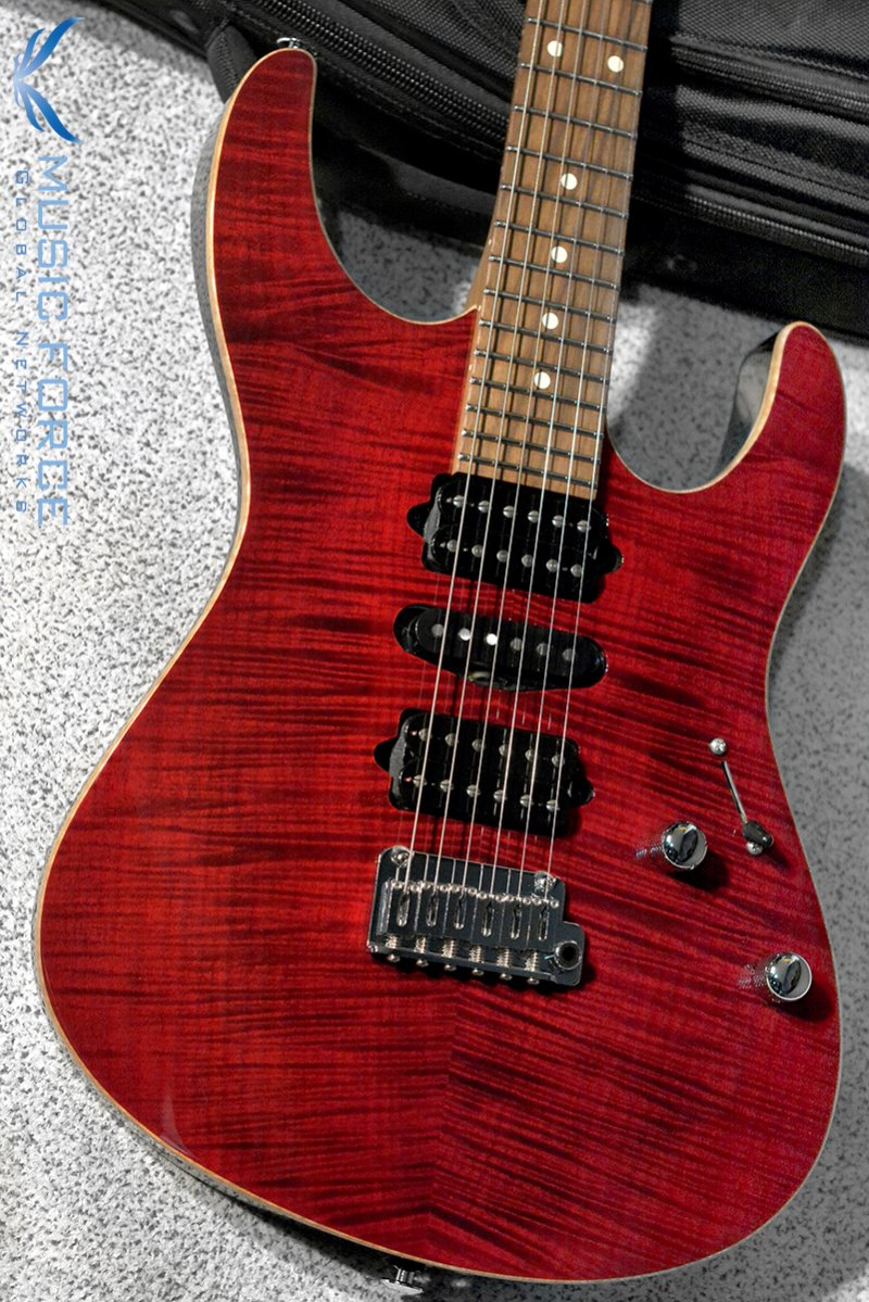 Suhr Modern Plus HSH-Chili Pepper Red w/Roasted Maple Neck, Pau Ferro FB & Black Headstock(2019년산/신품)