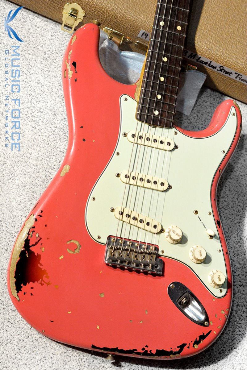 Fender Custom Shop Artist Series Michael Landau Signature 1963 Stratocaster Relic-Fiesta Red over 3TSB(2019년산/신품)
