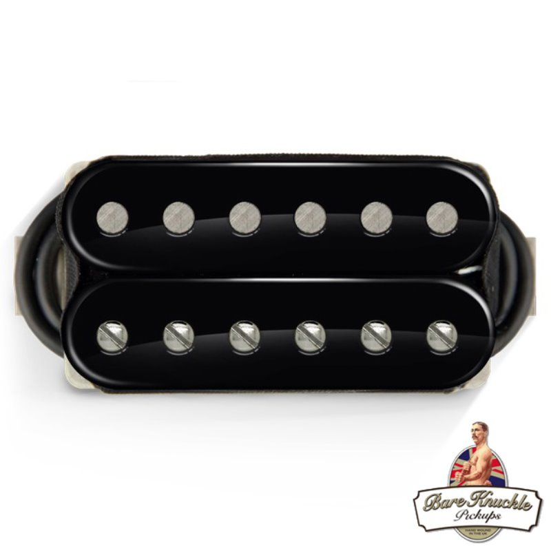 Bare Knuckle Vintage Series The Mule Humbucker Pickups (Open Black)