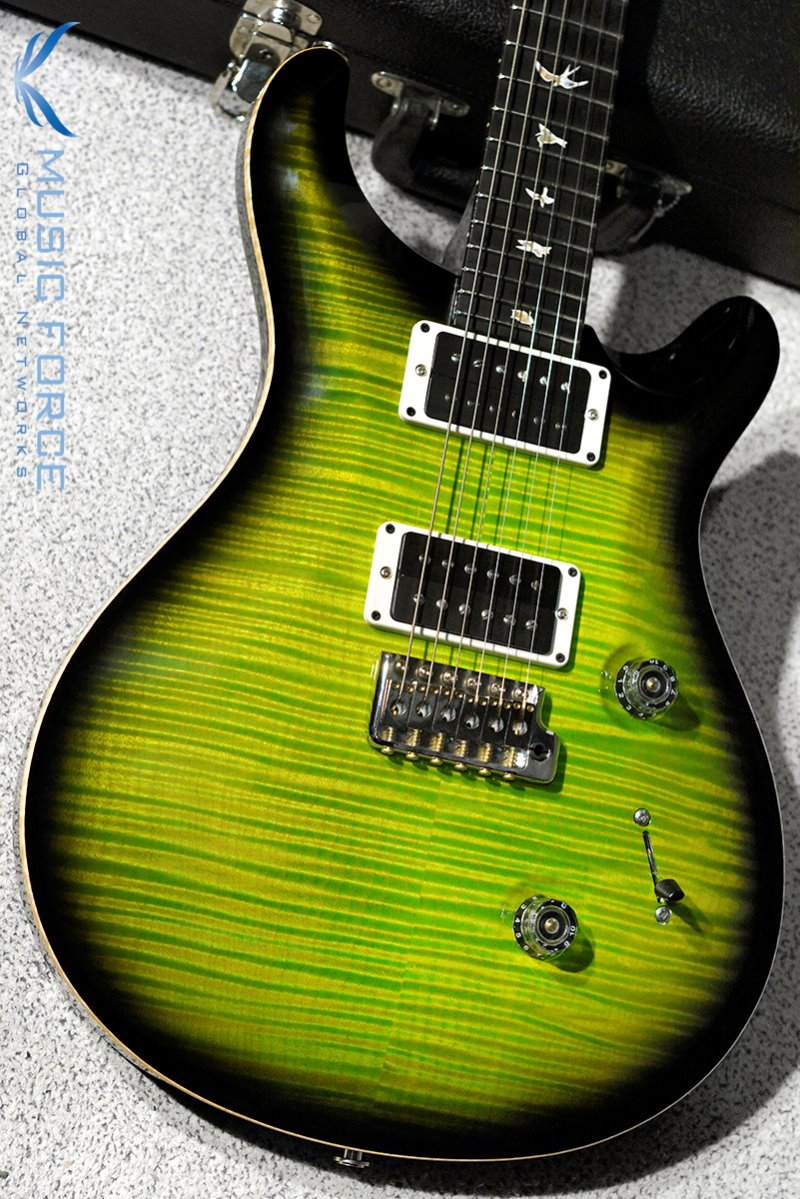 [파이널세일(~12/31까지)] PRS Custom 24-Custom Color Eriza Verde Smoke Burst w/10top Option(2016년산/신품)
