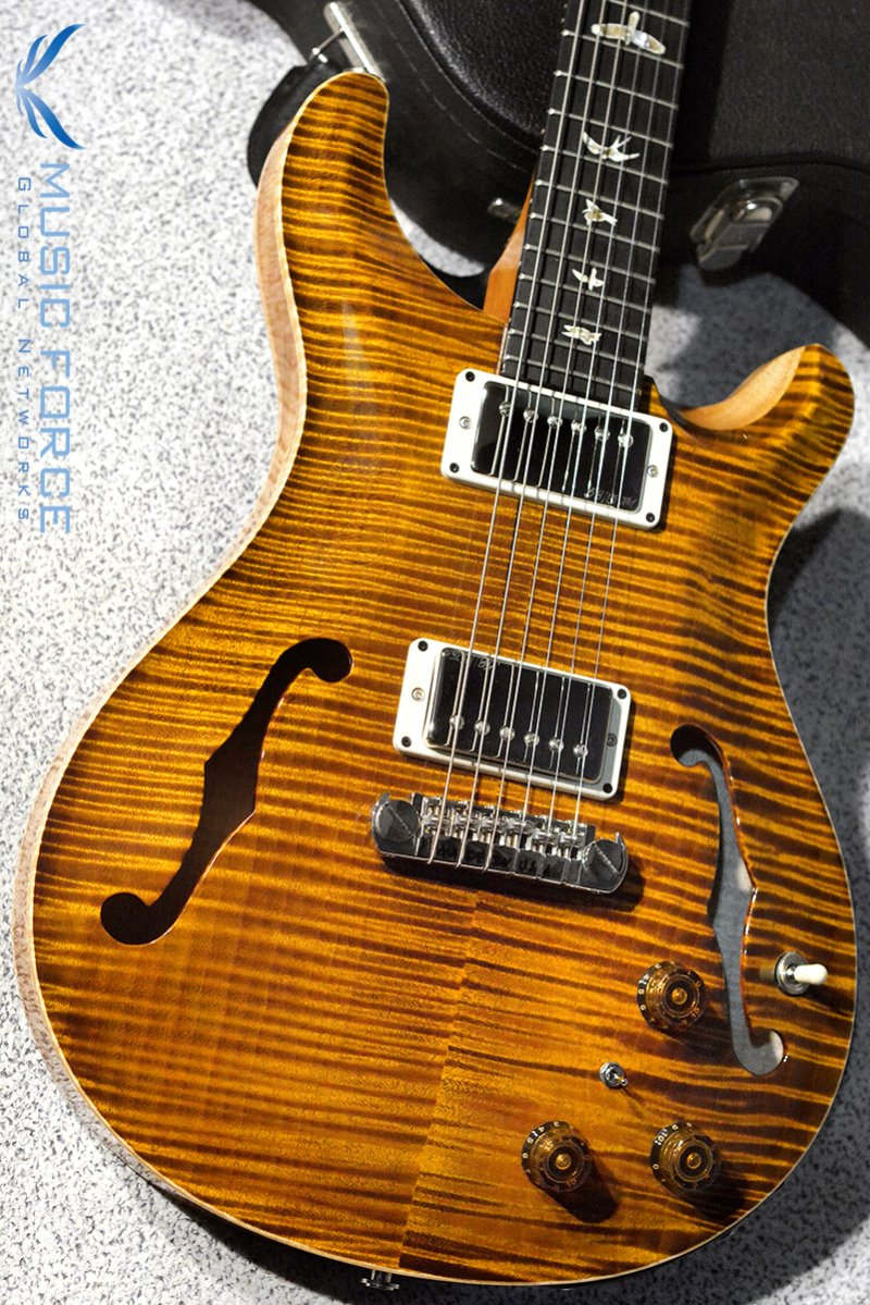 [창사11주년기념세일!!!] PRS Hollowbody II FMT-Custom Color Black Gold w/Double 10top Option & Piezo(2016년산/신품)