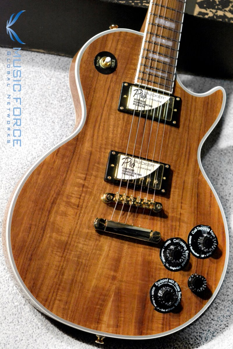 Epiphone Les Paul Custom Pro Koa Limited Edition w/Gold Hardware (2019년산/신품)