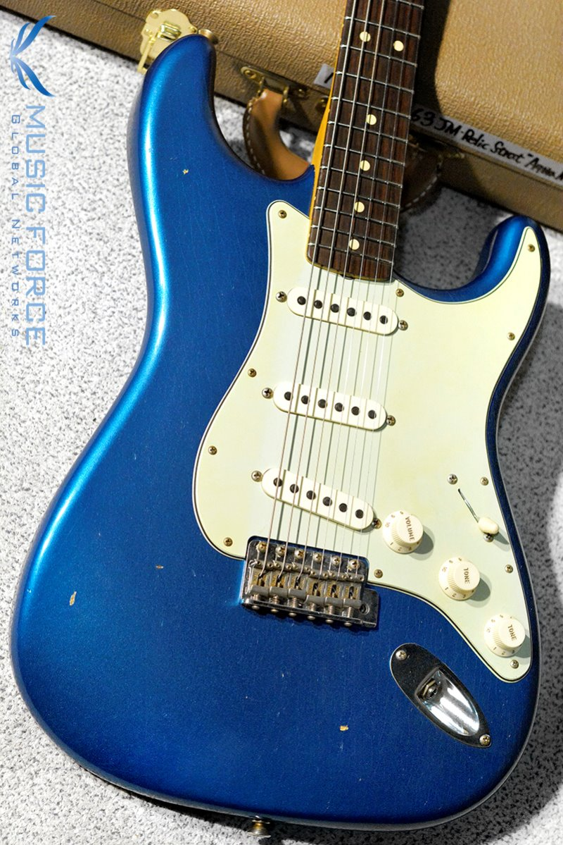 Fender Custom Shop 1963 Strat Journeyman Relic-Aqua Marine Metallic(2019년산/신품)