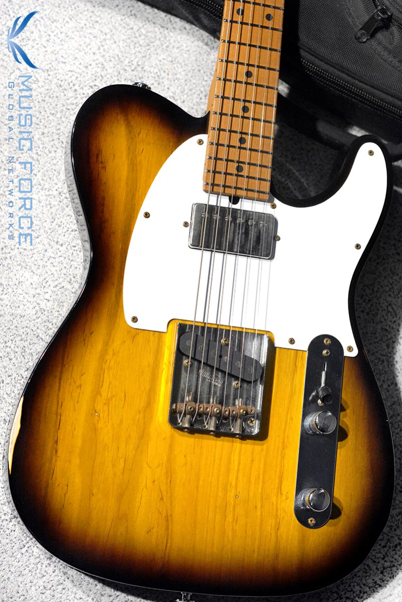 [이월상품창고대방출!!!] Suhr Classic T Antique(Pro-Series)-2 Tone Tobacco Burst w/Roasted Maple Neck & SSV Humbucker(2014년산/신품)
