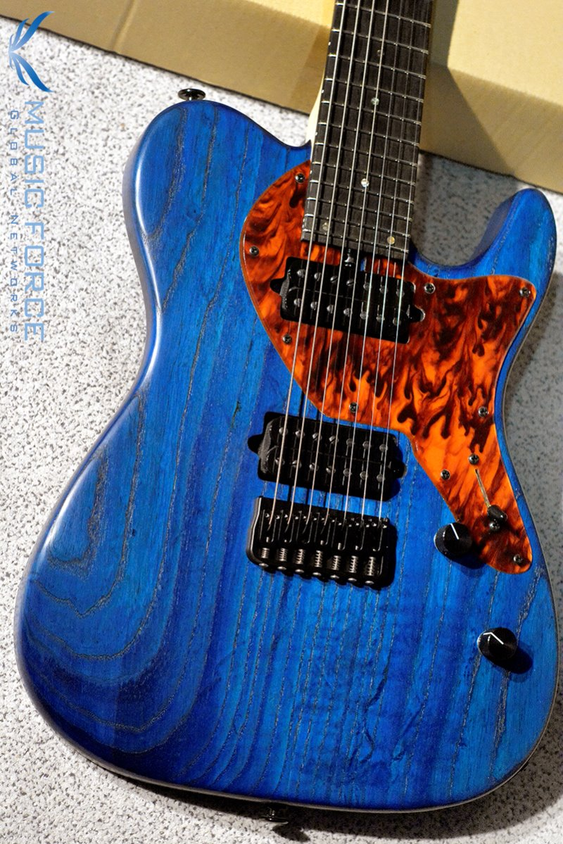 Bacchus Inspiration Custom T7-Special-IC Limited Edition-Blue/Oil w/Black Wood FB (2019년산/신품)