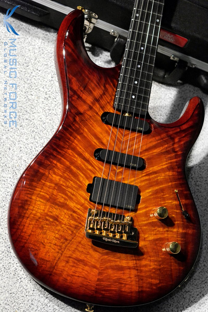 Musicman BFR(Ball Family Reserve) Steve Lukather Model 'Luke' Koa Top-Island Burst(2017년산/신품)