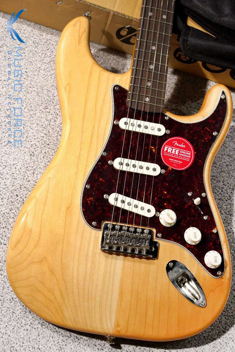 Squier Classic Vibe 70s Stratocaster SSS-Natural w/Indian Laurel FB (2019년산/신품)
