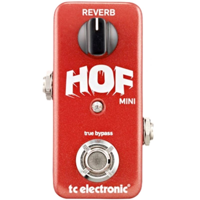 TC Electronic Hall of Fame Mini Reverb 홀오브페임 미니 리버브