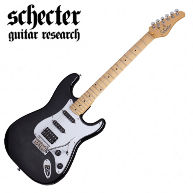 Schecter Traditional Custom-Trans Black Burst w/Maple FB(2019년산/신품)
