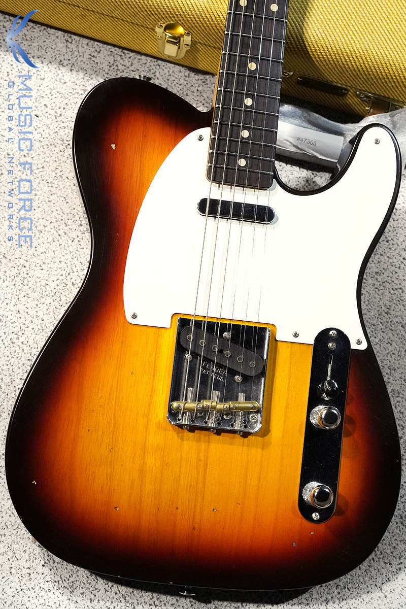 Fender Custom Shop 1959 Tele Journeyman/Closet Classic-Chocolate 3TSB w/AA Flame Maple Neck (신품)