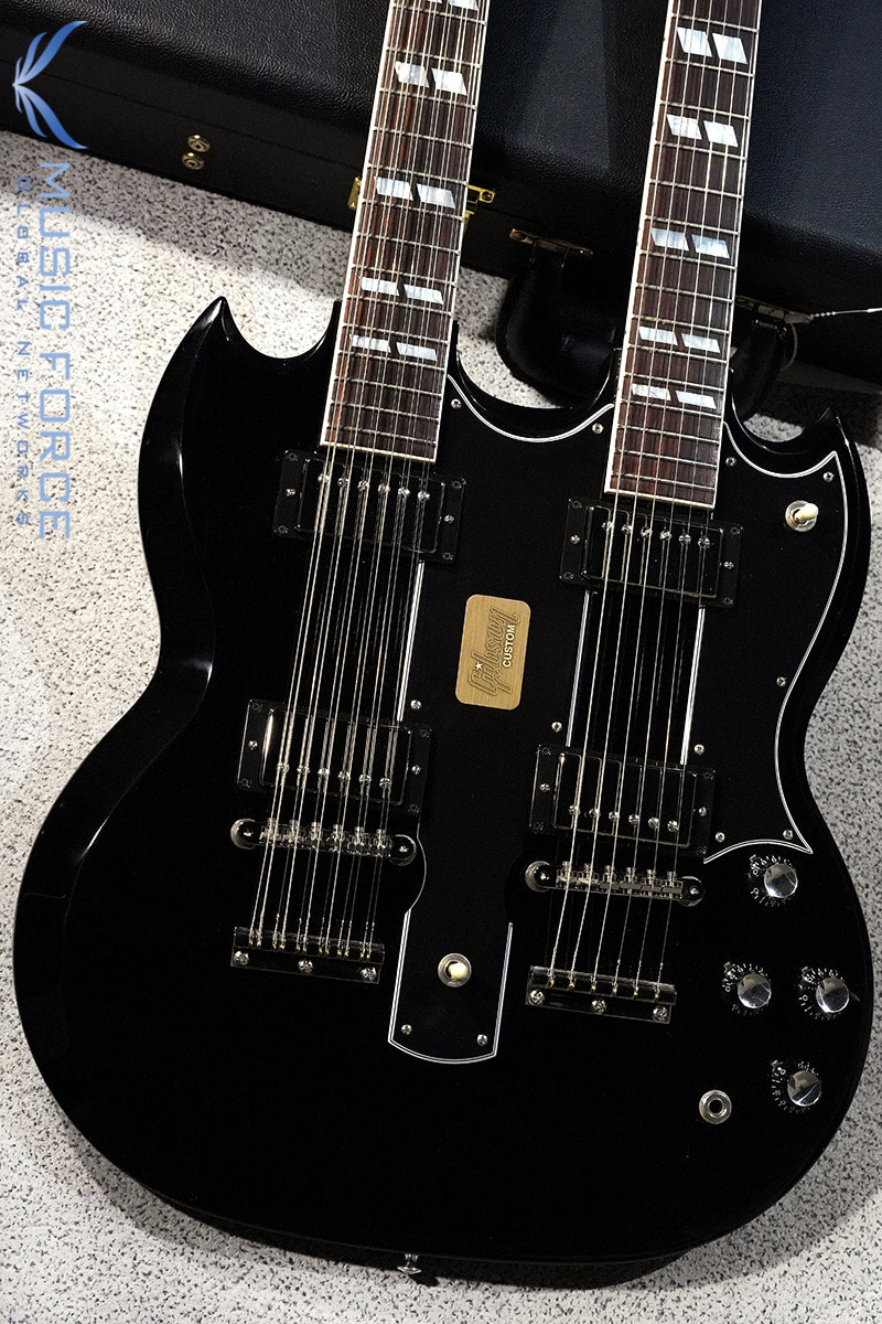 [특별세일] Gibson Custom EDS-1275 Double Neck-Ebony(2016년산/신품)