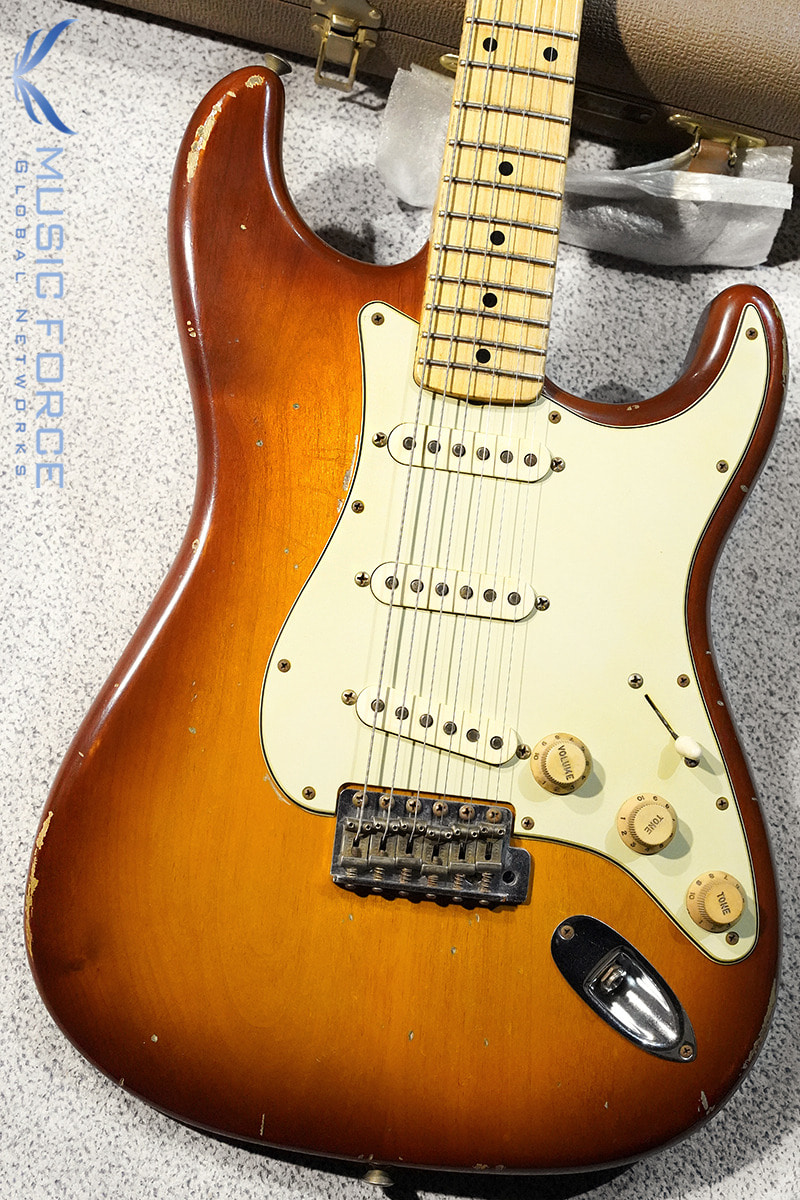 [Used] Fender MBS(Masterbuilt) 1962 Stratocaster Relic-Tobacco Sunburst by Jason Smith(2013년산/Mint급중고)
