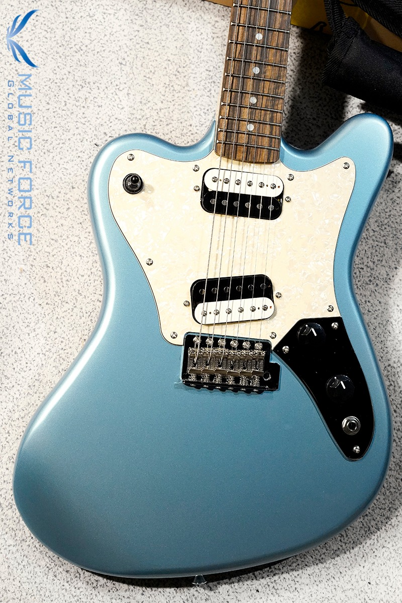 Squier Paranormal Super Sonic-Ice Blue Metallic w/Indian Laurel FB (2020년산/신품)