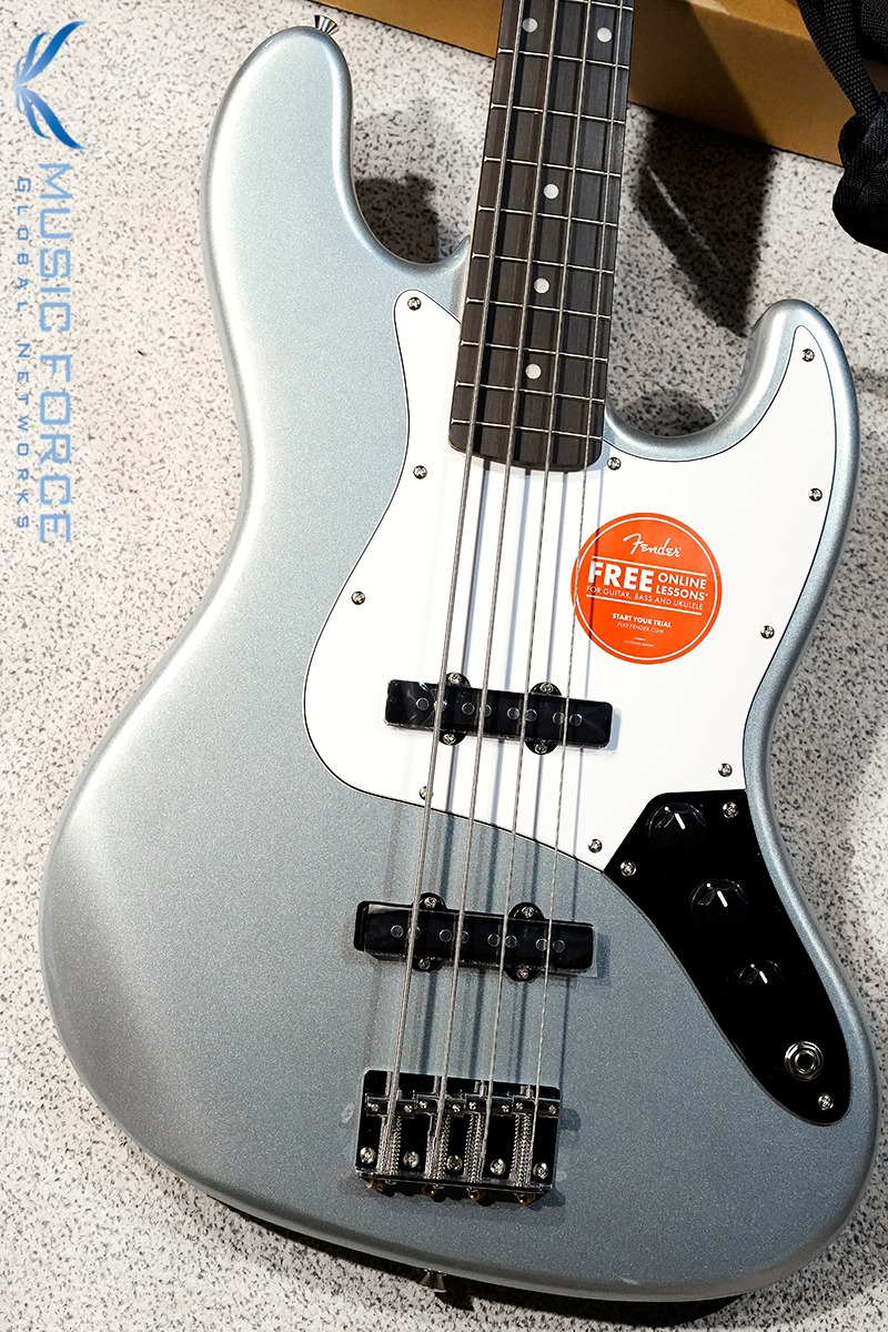 [특별세일] Squier Affinity Jazz Bass-Slick Silver w/Indian Laurel FB (2020년산/신품)