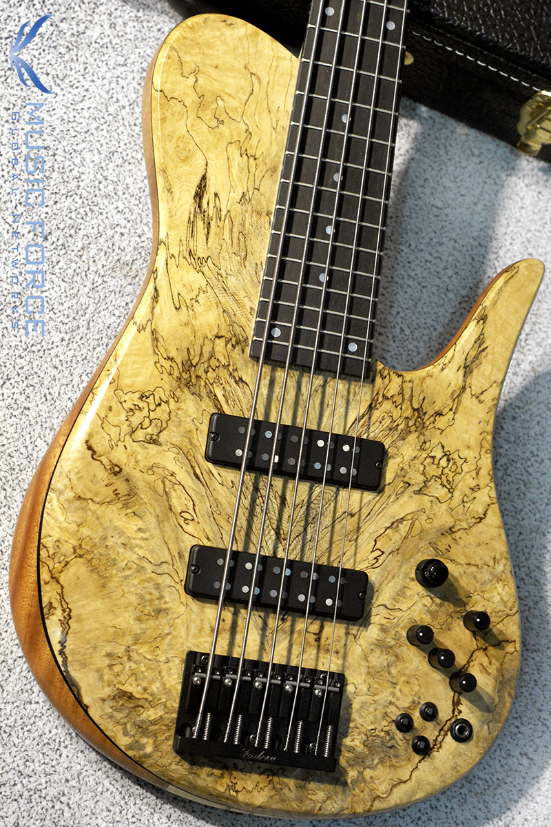 Fodera Custom Imperial Elite 5-Spalted Belize Burl Top w/5-Piece Maple Neck & Ebony FB(2016년산/신품)