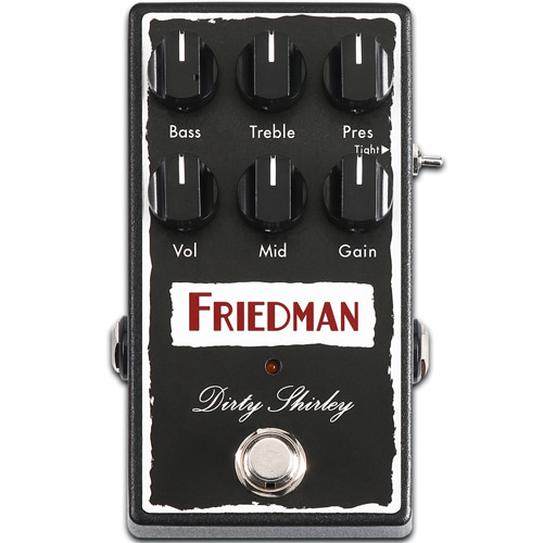 [특별세일] Friedman Dirty Shirley Overdrive Pedal (정식수입품)